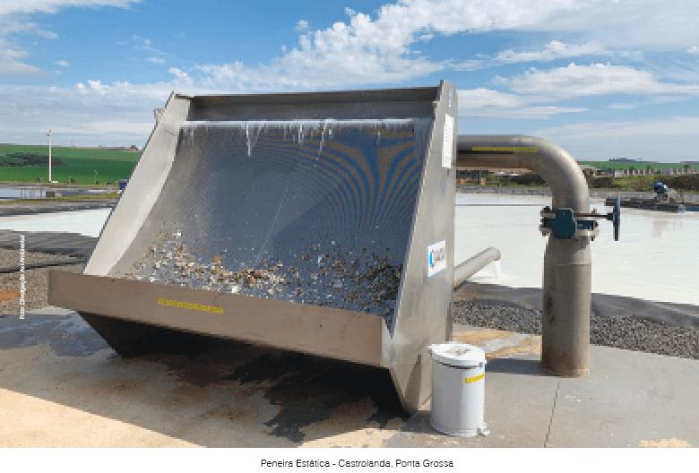 Peneira hidrostática no pré-tratamento reduz carga de sólidos nos filtros