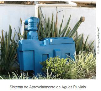 Sistemas para aproveitamento de água