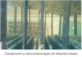 Eletrólise utiliza eletricidade para tratar efluentes