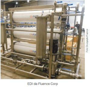 Crescem aplicações com Eletrodeionização (EDI), que custa 15 vezes menos do que há 10 anos