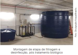 O reúso como alternativa para escassez de água