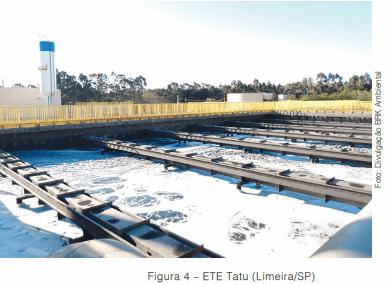 Lodo Granular Aeróbio, processo compacto deixa o efluente tratado bem clarificado
